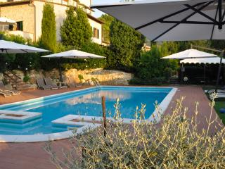 Monache 4 Farmhouse holiday rental with private pool and garden in San Gimignano