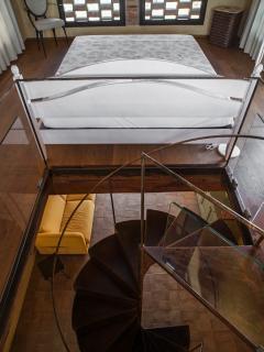 la CasA sul SentierO: il Fienile. Bedroom, the wind room.