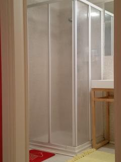 Doccia del bagno di sopra