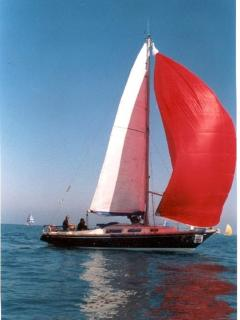 My 10 m. sailboat