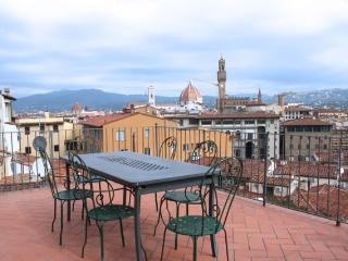 Cosmea, Ponte Vecchio, Florencia