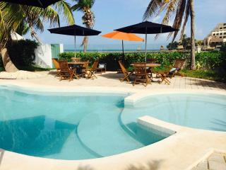 Aqua-New 4 bedroom Villa on Playa Norte, Isla Mujeres