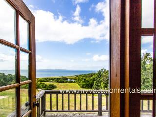 FIELC - Spectacular Sunsets, Ocean View Main and Guest House, Private, West Tisbury