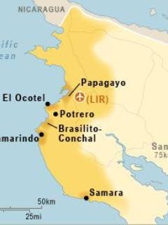 Potrero is located along the Golden Coast of Costa Rica, in the province of Guanacaste.