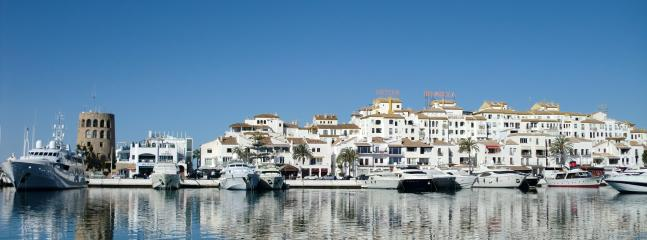 View of the Port in Puerto Banus