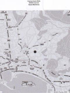 map of Cannes