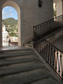 Building stairway