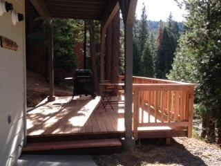 Front deck, just added November 2014.