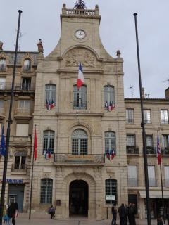 The Mairie, town hall, two minutes away.