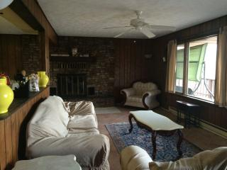 Furnished with amazing view of Deep Creek Lake, Oakland