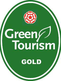 We have been awarded a Gold rating in the Green Tourism Business Scheme
