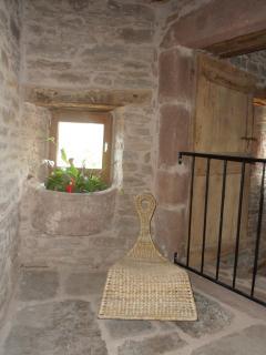Petit balcon avec vue imprenable sur le séjour