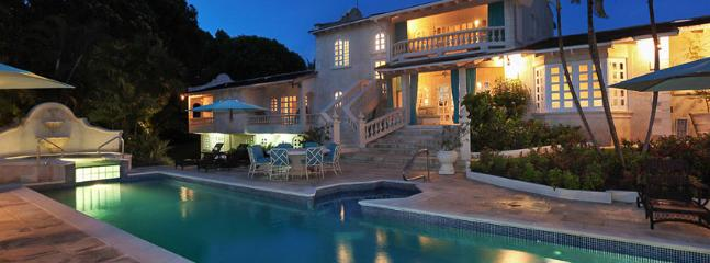 Villa Grendon House SPECIAL OFFER: Barbados Villa 237 Set In Large Beautifully Landscaped Gardens With An Enchanting Raised Jacuzzi And Plunge Pool.