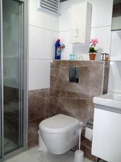 Bath room up staris