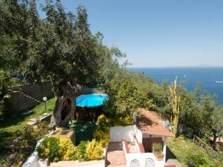 Villa Panorama in the heart of Sorrento Peninsula, Massa Lubrense