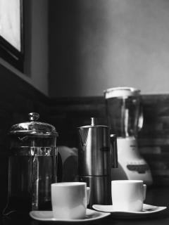 Espresso Coffee Maker, Tea Infuser & Juicer