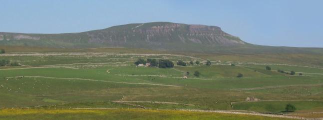 Pen-y-ghent - uno de los Yorkshire Dales tres picos