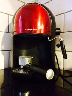 Espresso coffee maker,