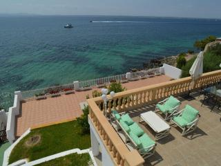 Terraza con acceso directo al mar, Alcudia