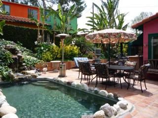 *SPANISH HACIENDA celebrity estate guest house. Gated/.resort/pet/spa/pool/BBQ