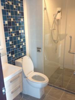 Hot water power showers