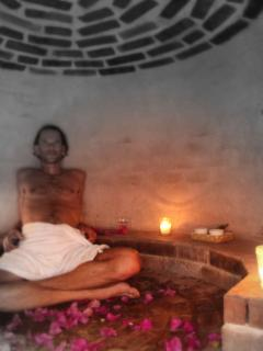 Cleanse in our traditional mayan sauna (Temascal).  It gets v. hot!