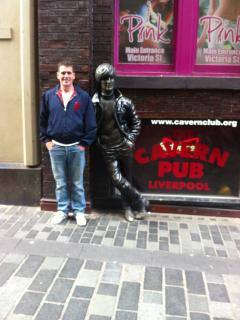 The Cavern in Matthew Street Liverpool