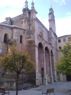 iglesia Santo Domingo junto al apartamento