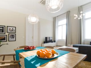 Bright huge downtown flat for max 6, Budapest