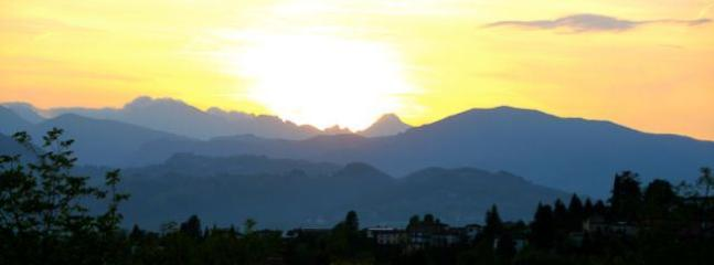 Stunning sunset view from Barga