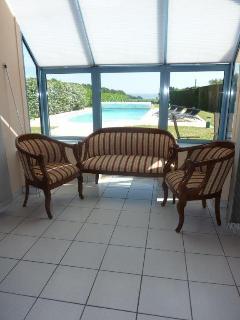 Sun room area