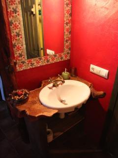 Bathroom in the bedroom