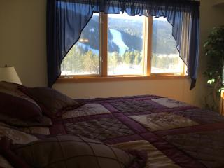 View of slopes from Master Bedroom