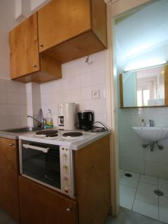 Kitchen & WC on ground foor of maisonette