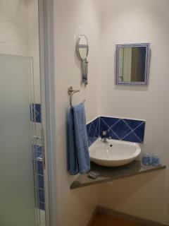 Shower-room, bedroom 2