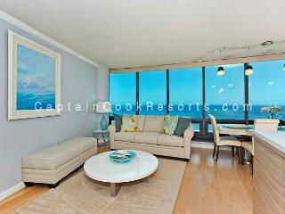 PRICE REDUCED!  Luxury condo with 2 Master Suites, panoramic ocean views!, Honolulu