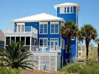 'My Blue Heaven' 5+ BR, Great Beach Views, Elevator, Pier on Lagoon