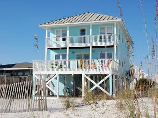 Lagniappe II - Gulf front home, West Beach, quiet beach, close to everything