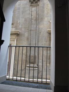 Particolare di Palazzo Gravina.