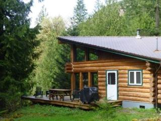 Cabin #97 - Log Cabin at the Lake that is Pet-Friendly!, Maple Falls