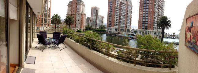 Foto panoramica desde la terraza