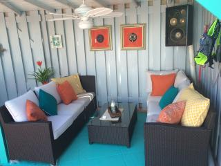 The updated cabana!