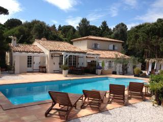 Villa Zen, beautiful Spa and Pool with amizing view on Saint Tropez Gulf