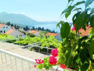 Double room with sea view and balcony, Dubrovnik