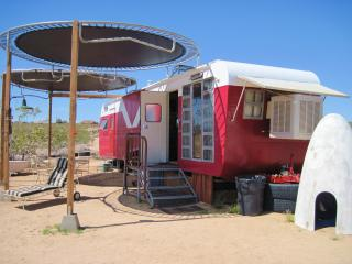 Red Rocket Vintage Trailer Home in Joshua Tree, CA