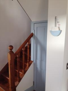 170 year old original stair and balustrade