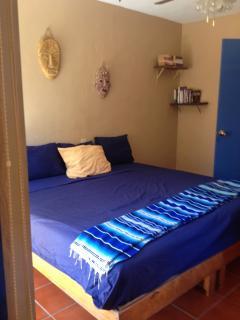 Bedroom 1, 1 King bed or 2 singles, bathroom, balcony, a/c