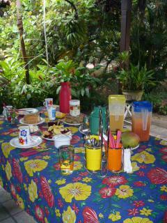 Sítio Folha d´Água: happy breakfast