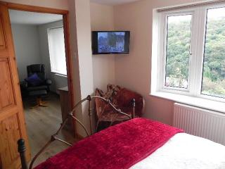 Bedroom with Picturesque window