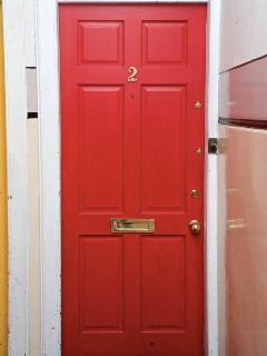 Front door to the flat
